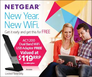 Netgear Q4 AC Adapter Promotion